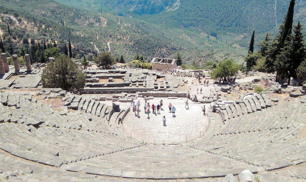 Good News: Το αρχαίο θέατρο των Δελφών θα ξαναλάμψει - 1,7 εκατ. ευρώ για την αποκατάσταση του! - Κυρίως Φωτογραφία - Gallery - Video
