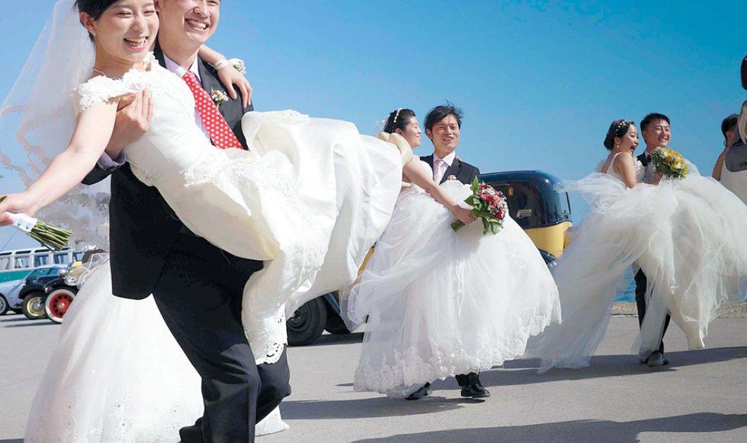 Good News: Ομαδικοί γάμοι Κινέζων την Άνοιξη στην Κρήτη - Ένα πολύ πετυχημένη «άνοιγμα» στην τεράστια ασιατική αγορά - Κυρίως Φωτογραφία - Gallery - Video