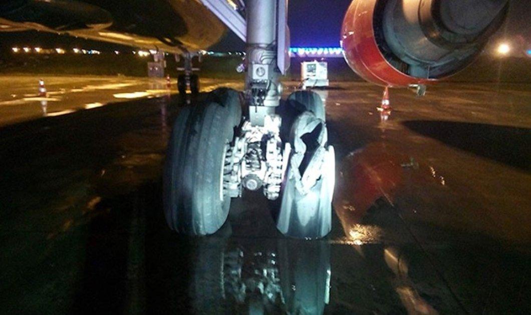 Εξερράγη κινητήρας αεροσκάφους στην τελική ευθεία για την απογείωση στο αεροδρόμιο Ατατούρκ της Τουρκίας! (Βίντεο) - Κυρίως Φωτογραφία - Gallery - Video