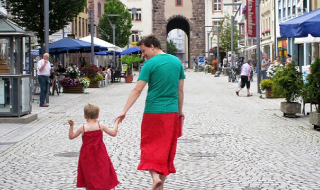 Απίθανες φωτό από τους καλύτερους μπαμπάδες στον κόσμο - κάνουν πράξη, ο καθένας με το δικό του μοναδικό τρόπο, την αγάπη τους για τα παιδιά τους!  - Κυρίως Φωτογραφία - Gallery - Video