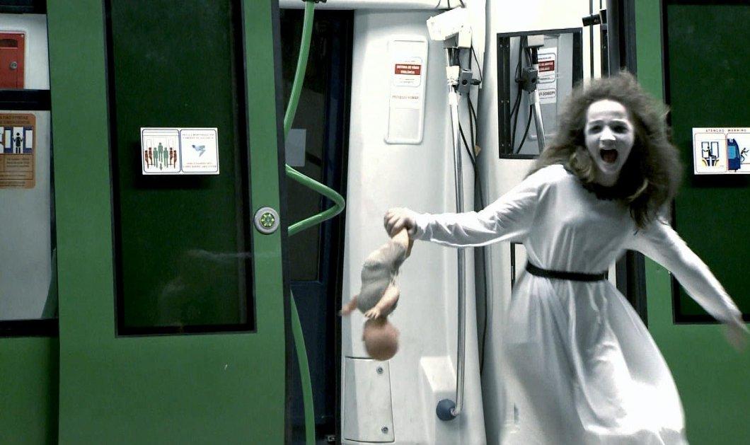 Απίστευτη φάρσα στο μετρό της Βραζιλίας: Εσείς τι θα κάνατε αν βλέπατε να κάθεται δίπλα σας ένα...φάντασμα; - Κυρίως Φωτογραφία - Gallery - Video
