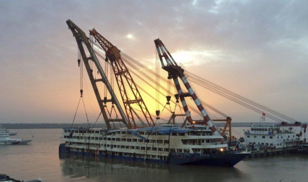 Τραγικός ο απολογισμός από το ναυάγιο στον ποταμό Γιανγκτσέ της Κίνας - 431 νεκροί & 11 αγνοούμενοι - Κυρίως Φωτογραφία - Gallery - Video