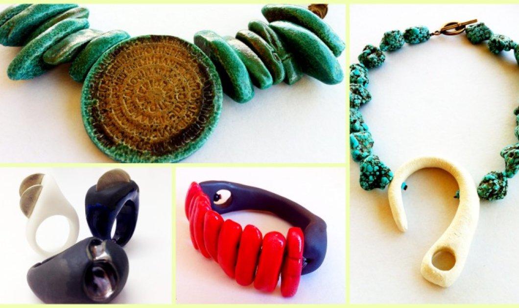 Κυρίες μου, κοσμήματα - έργα τέχνης σας περιμένουν στην έκθεση εικαστικού κεραμικού κοσμήματος το Σάββατο 15 Φεβρουαρίου στον πολυχώρο Craftit στην Κηφισιά - Κυρίως Φωτογραφία - Gallery - Video