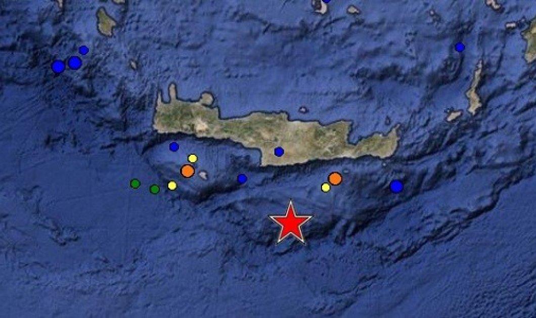 Σεισμός 5 Ρίχτερ ταρακούνησε την Κρήτη - Ποιο ήταν το επίκεντρό του; - Κυρίως Φωτογραφία - Gallery - Video