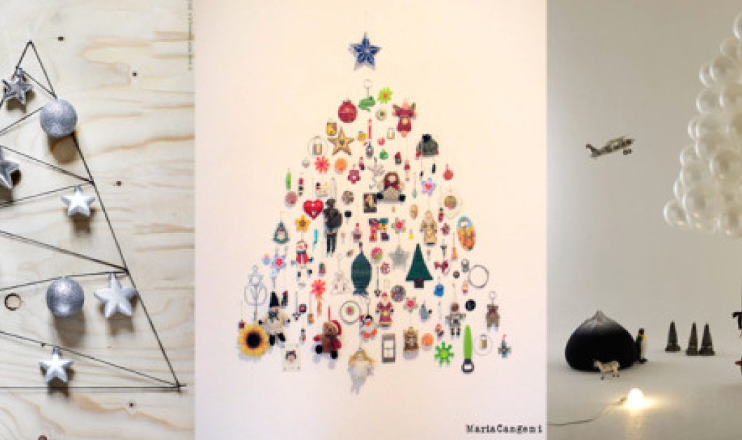 Ακόμα δε στολίσατε; Δείτε τα 7 εναλλακτικά Χριστουγεννιάτικα δέντρα που θα λατρέψετε!(Φωτό) - Κυρίως Φωτογραφία - Gallery - Video