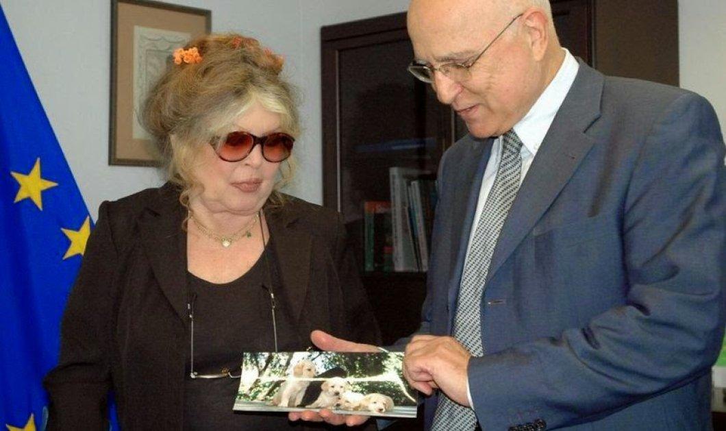Vintage Pic: Έχετε δει τον Σταύρο Δήμα με την Μπριζίτ Μπαρντό σε «τρυφερό» στιγμιότυπο; Δεν είναι πλάκα! - Κυρίως Φωτογραφία - Gallery - Video