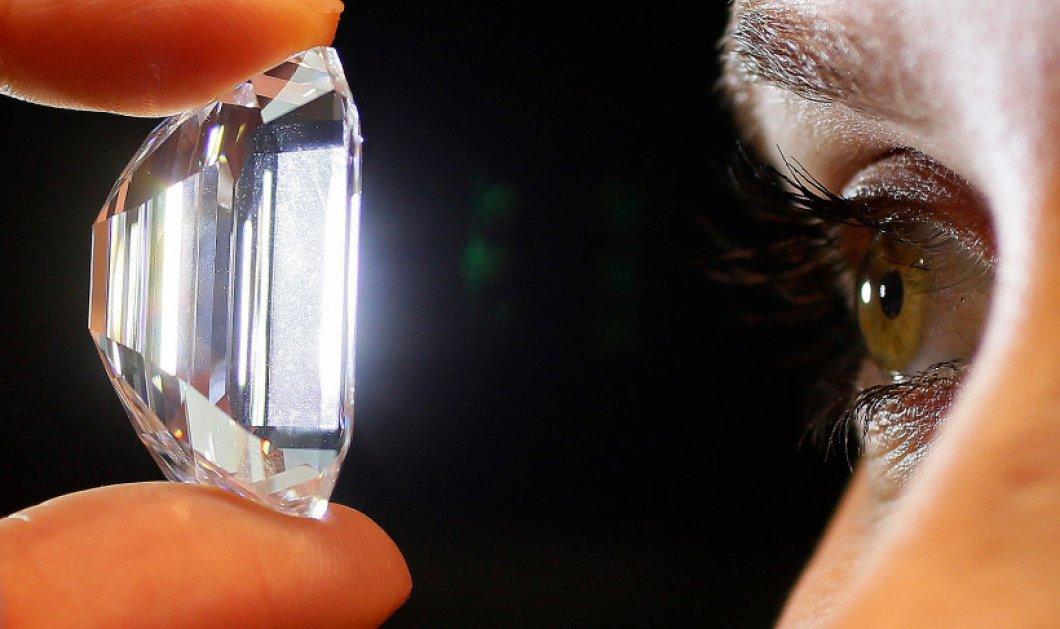 """Κυρίες και κύριοι βρέθηκε το """"τέλειο"""" λευκό διαμάντι 100 καρατίων αξίας 16 εκ. λιρών! Δείτε το!  - Κυρίως Φωτογραφία - Gallery - Video"""