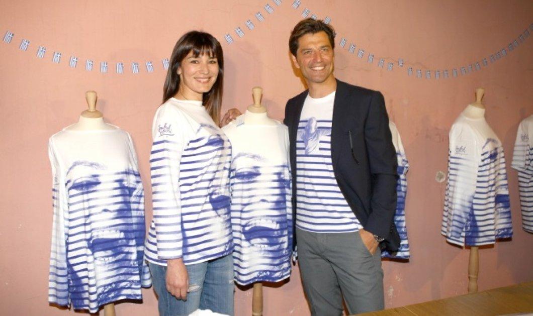 Σάκης Ρουβάς: Με συλλεκτικό T-shirt του Γκοτιέ για την Μελίνα Μερκούρη  - Κυρίως Φωτογραφία - Gallery - Video