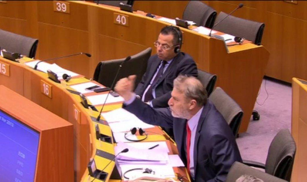 Άγριος τσακωμός Νότη Μαριά και Ντράγκι στο Eυρωπαϊκό Kοινοβούλιο! (Βίντεο) - Κυρίως Φωτογραφία - Gallery - Video