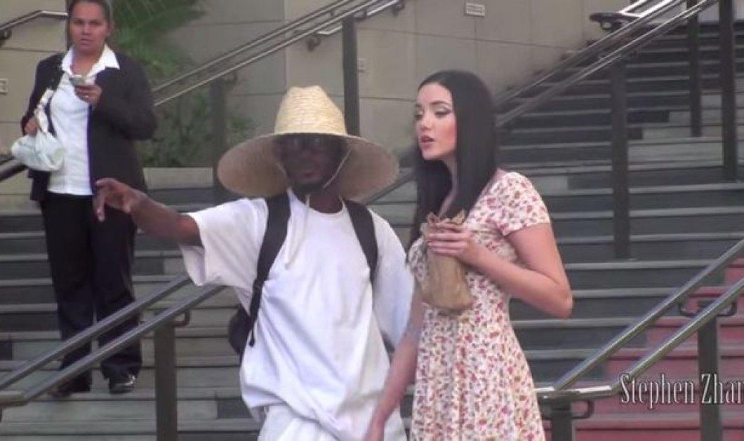 Η φάρσα της ημέρας - τι θα έκανες αν σου μιλούσε ένα σέξι μεθυσμένο κορίτσι στον δρόμο; Το κοινωνικό πείραμα που κάνει τον γύρο του διαδικτύου! (βίντεο) - Κυρίως Φωτογραφία - Gallery - Video