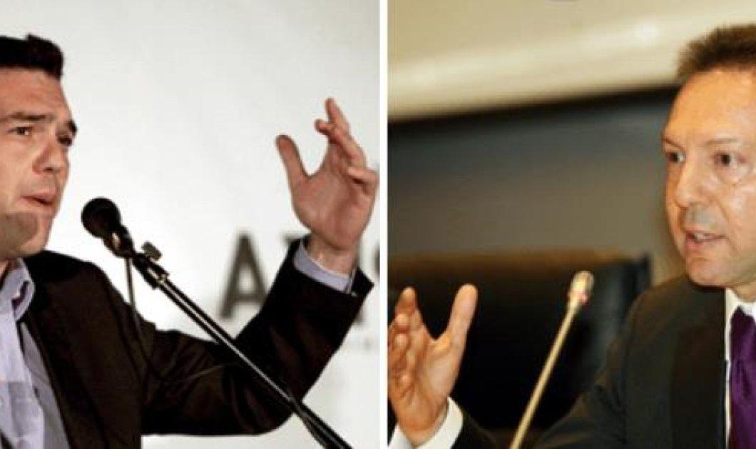 Σκανδιναβός ''εραστής'' ο Στουρνάρας ή φανατικός φιλελεύθερος κατά τον Τσίπρα; Η κόντρα των δύο ανδρών στη Βουλή - Κυρίως Φωτογραφία - Gallery - Video