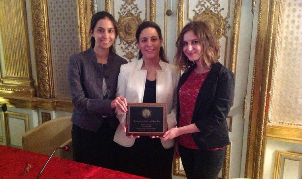 Κατερίνα Πιτσόλη, Στεφανία Βλάχου, Μελίνα Στρούγγη: Πρώτες φοιτήτριες στον διαγωνισμό εικονικής δίκης! - Κυρίως Φωτογραφία - Gallery - Video