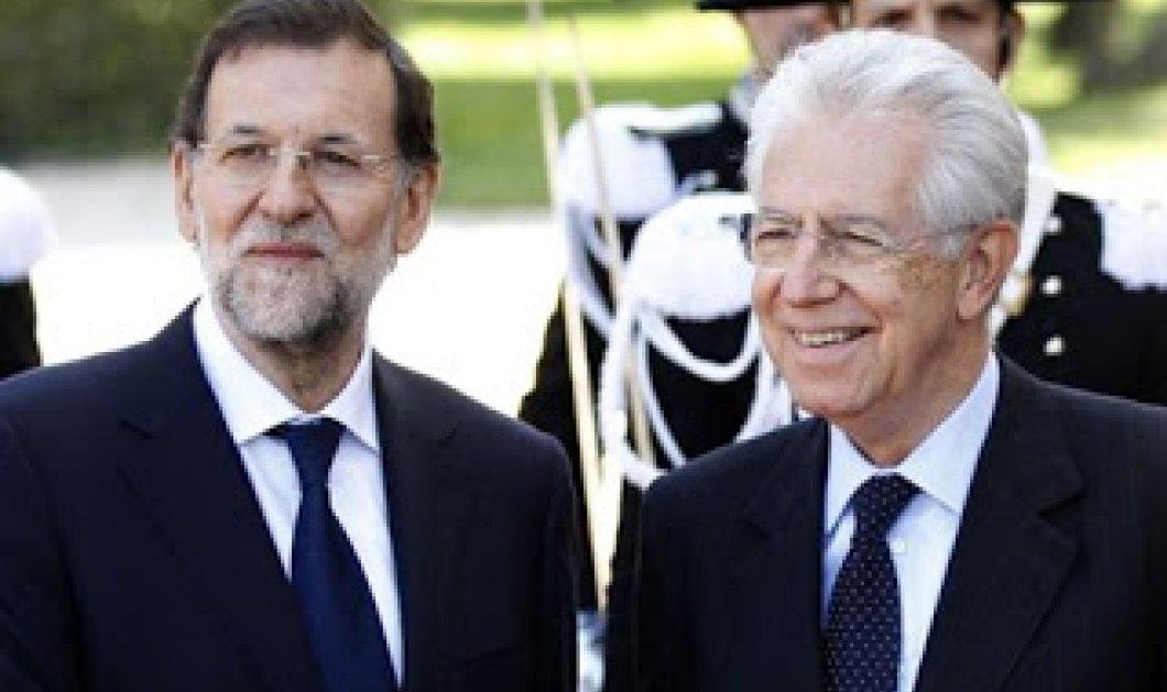 Υπέρ της παραμονής της Ελλάδας στην ευρωζώνη τάσσονται Ραχόι - Μόντι - Κυρίως Φωτογραφία - Gallery - Video