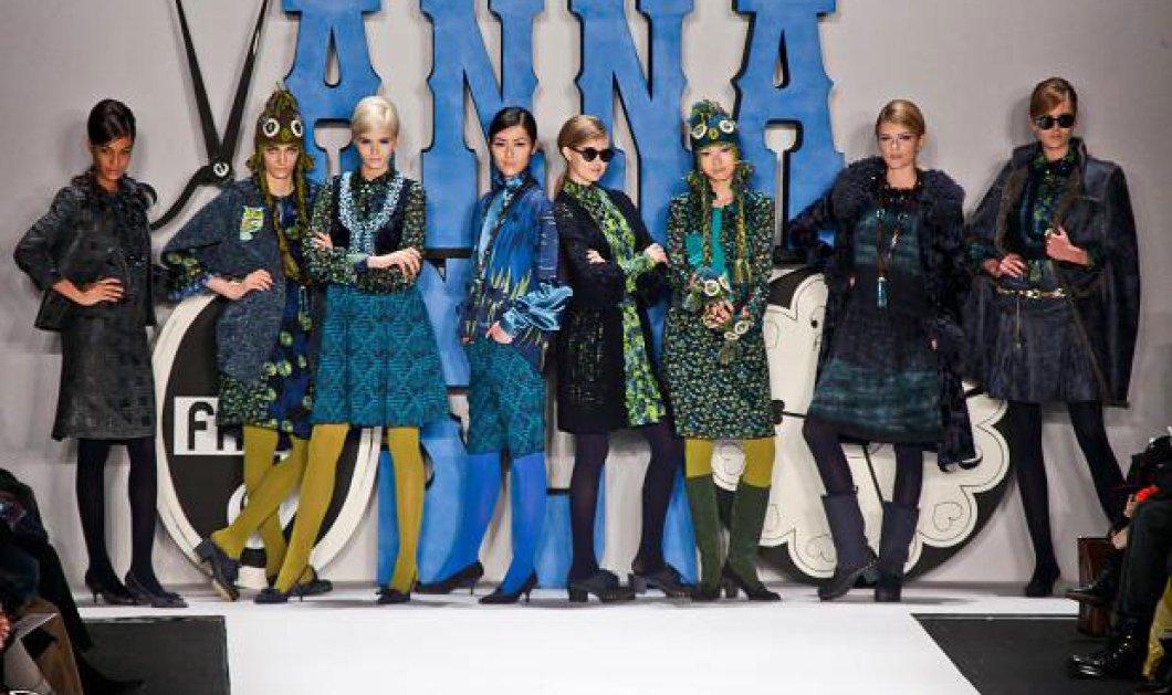 Τα εκτυφλωτικά ''μουντά'' ρούχα της Anna Sui για τον φετινό χειμώνα - Κυρίως Φωτογραφία - Gallery - Video