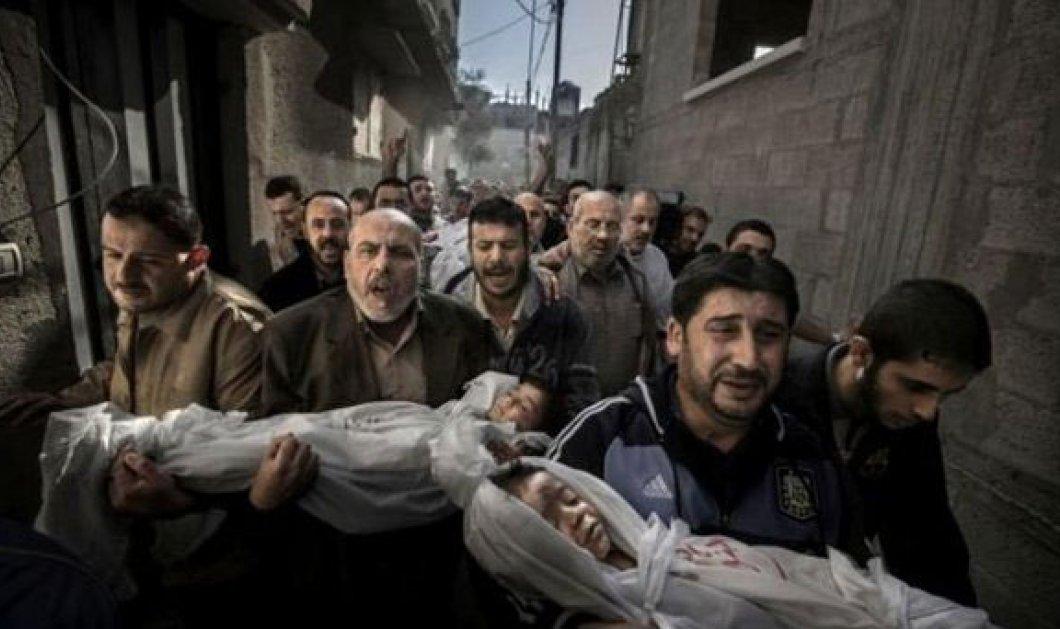 Στη Γάζα τραβήχτηκε η «Καλύτερη Φωτογραφία του 2012» - Κυρίως Φωτογραφία - Gallery - Video