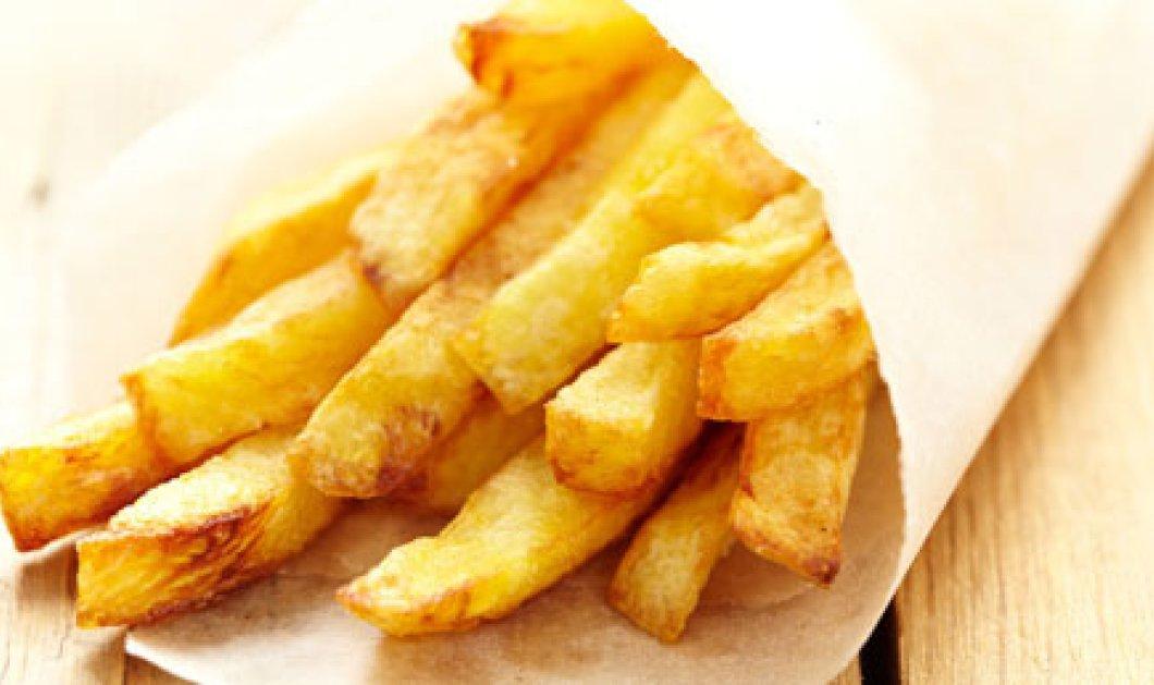 Τα μυστικά της επιτυχίας για τις τέλειες τηγανιτές πατάτες! - Κυρίως Φωτογραφία - Gallery - Video
