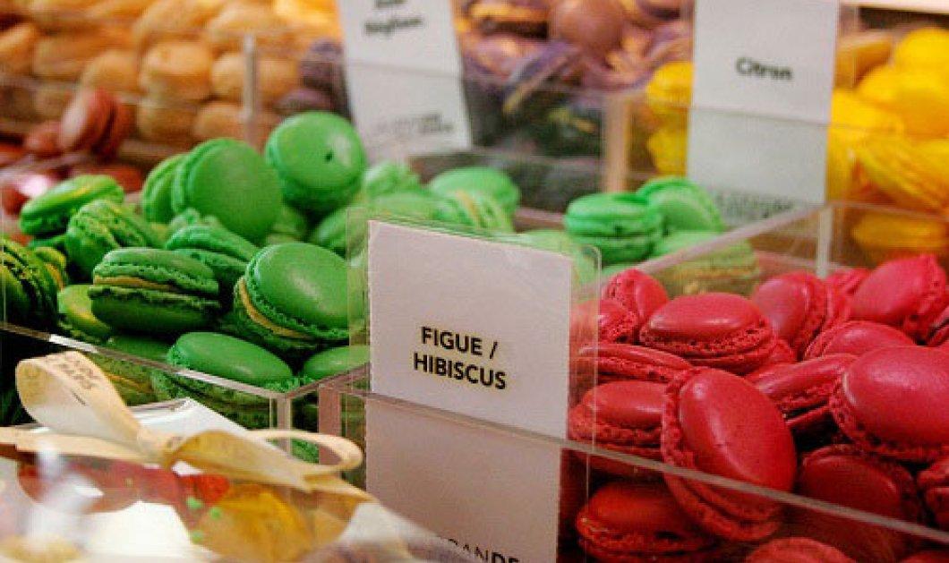 Φάτε μάτια…macarons…! Τα πολύχρωμα Γαλλικά μπισκότα haute coutoure που κάνουν θραύση - Κυρίως Φωτογραφία - Gallery - Video