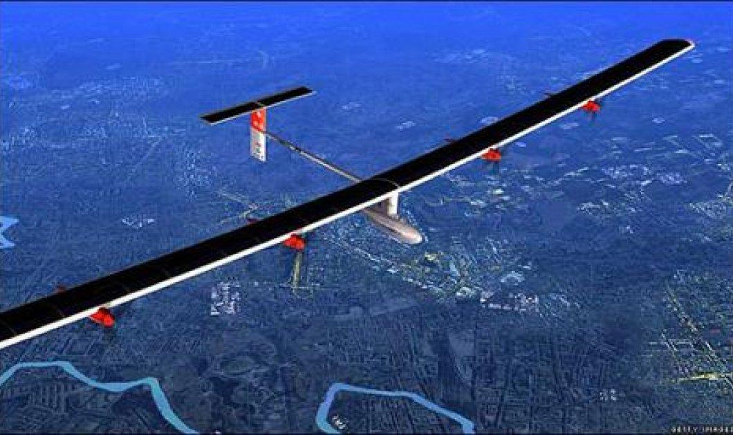 Υπέροχες εικόνες από την ιστορική πρώτη πτήση ηλιακού αεροπλάνου πάνω από το Σαν Φρανσίσκο! - Κυρίως Φωτογραφία - Gallery - Video
