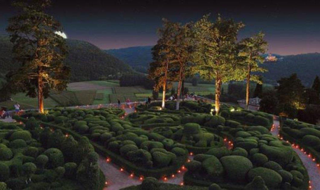 Πρωινός περίπατος στους θαυμαστούς κήπους μιας πολής της Γαλλίας! (εικόνες) - Κυρίως Φωτογραφία - Gallery - Video