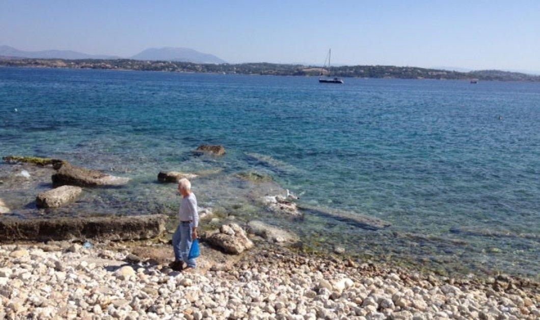 O γέρος, η θάλασσα και ο γλάρος - Φωτογραφία από τις Σπέτσες! - Κυρίως Φωτογραφία - Gallery - Video