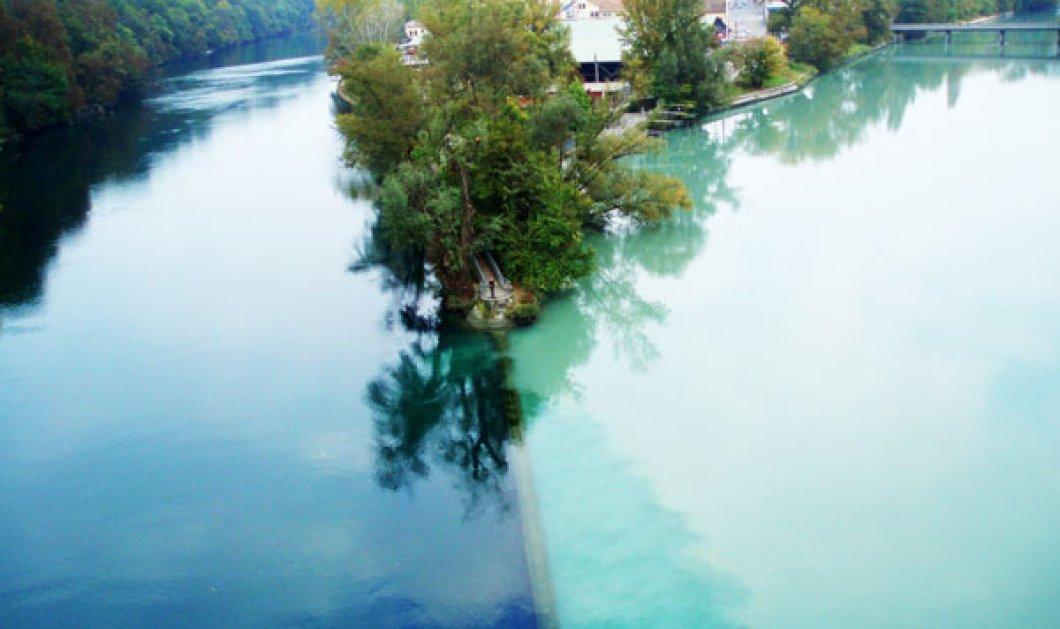 Η εκπληκτική «ένωση» δύο ποταμών! (φωτό) - Κυρίως Φωτογραφία - Gallery - Video