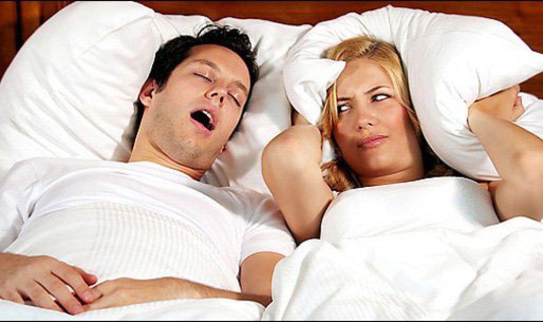 1 στις 4 γυναίκες και 1 στους 10 άνδρες ροχαλήζουν - Πεδίο μάχης η κρεβατοκάμαρα λόγω ροχαλητού! - Κυρίως Φωτογραφία - Gallery - Video