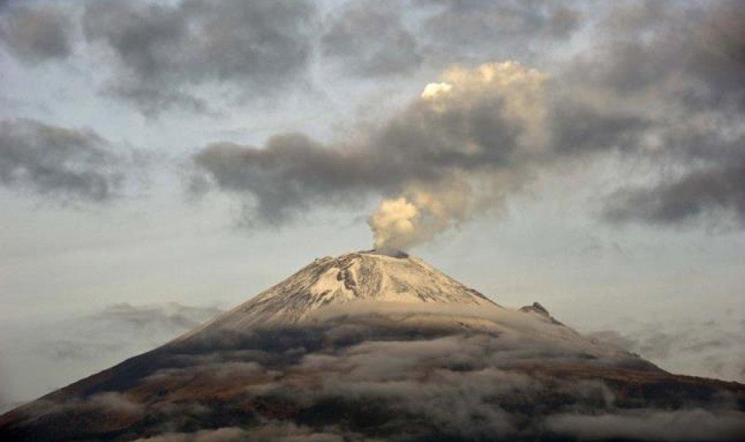 Η φωτογραφία της ημέρας - Το ηφαίστειο Popocatepetl στο Μεξικό έτοιμο να εκραγεί! - Κυρίως Φωτογραφία - Gallery - Video