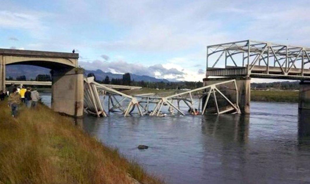 Απίστευτη φωτογραφία και βίντεο με κατάρρευση γέφυρας στο Σιάτλ!  - Κυρίως Φωτογραφία - Gallery - Video