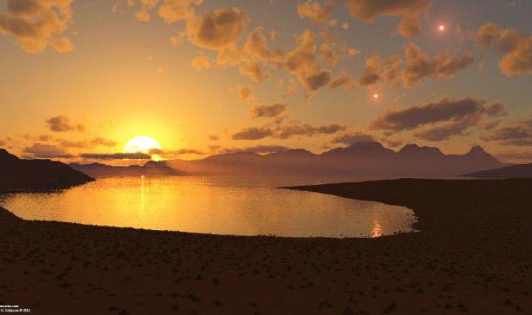 Aλήθεια λέω: 3 νέοι κατοικήσιμοι πλανήτες με τριπλό ηλιοβασίλεμα προσφέρονται για μετακόμιση!  - Κυρίως Φωτογραφία - Gallery - Video