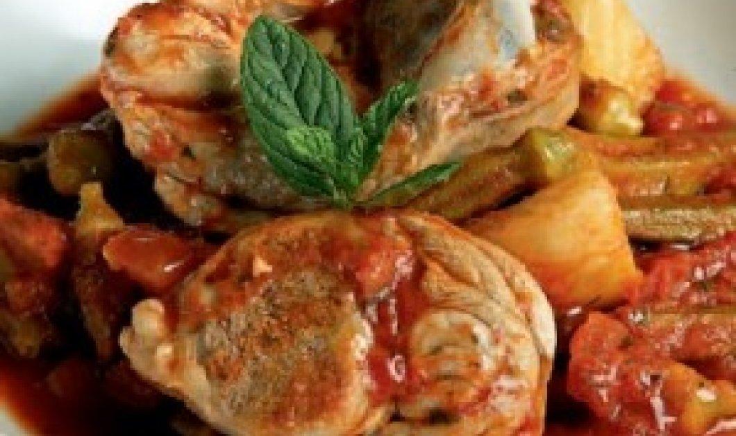 Σήμερα μας μαγειρεύει ο Λευτέρης Λαζάρου αρνάκι με μπάμιες-Λαχταριστό και εύκολο! - Κυρίως Φωτογραφία - Gallery - Video