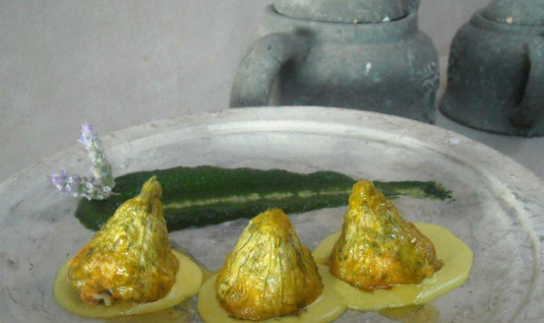 Να φάμε γιορτινά; Σφυρίδα με κριθαρώτο-μελάνι σουπιάς, σαλάτα -γλυκόξινα σύκα κολοκυθοανθοί -τραχανά & μυρωδικά; Οι δημιουργικοί σεφ του Πηλίου προτείνουν το μενού του 15αύγουστου  - Κυρίως Φωτογραφία - Gallery - Video