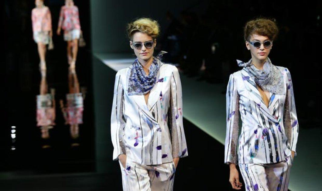 Η αβάστακτη μίνιμαλ γραμμή του Giorgio Armani στην νέα του κολεξιόν από το Fashion Week του Μιλάνου - Ο άντρας που ξέρει ότι το περιττό δεν ομορφαίνει την γυναίκα! (φωτό - βίντεο) - Κυρίως Φωτογραφία - Gallery - Video