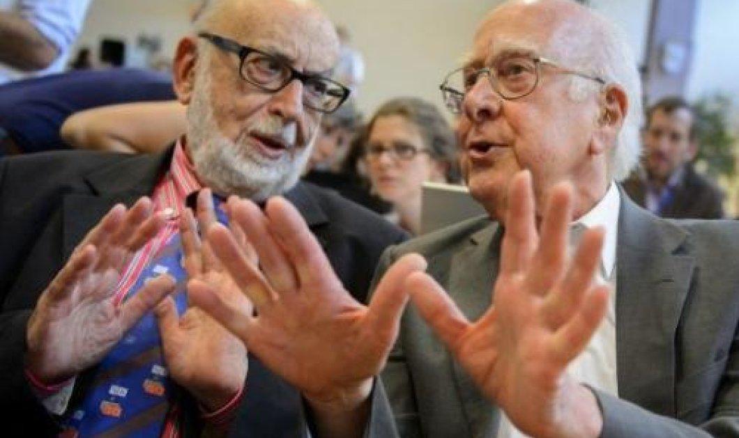 Παρακολουθείστε ζωντανά την ανακοίνωση της απονομής του βραβείου Nobel Φυσικής 2013 στους Peter Higgs και Francois Englert!  - Κυρίως Φωτογραφία - Gallery - Video