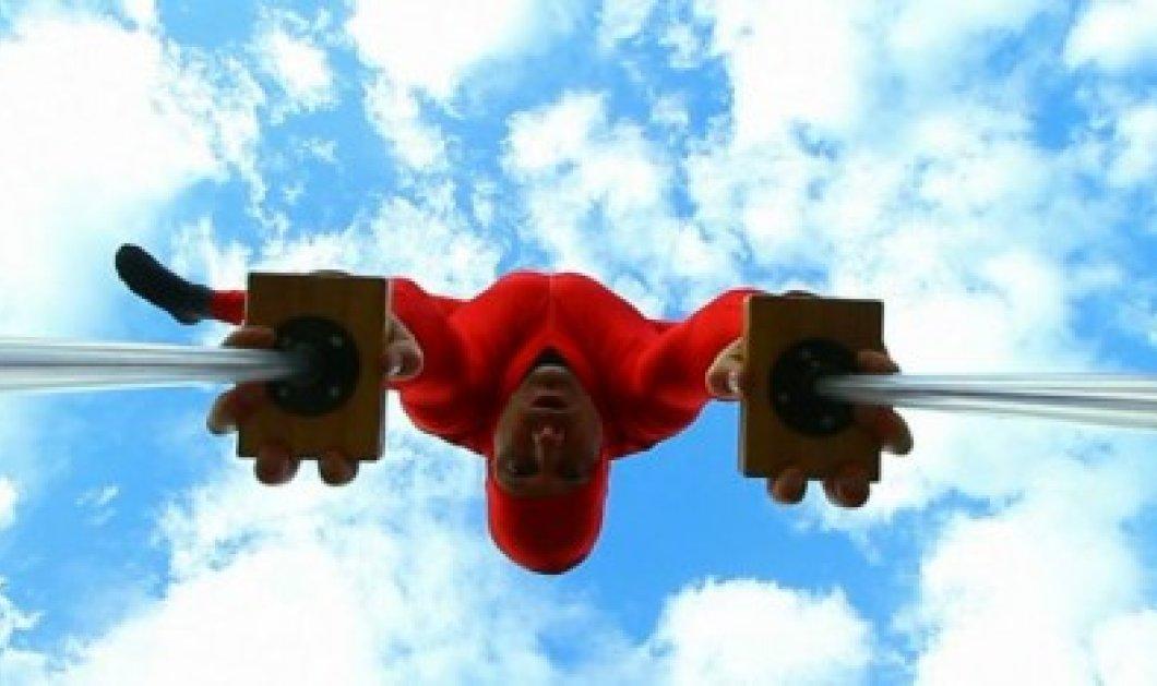 Άγνοια κινδύνου έχει ο Eskil Ronningsbakken που κάνει ακροβατικά στα 2.000 πόδια! (φωτό - βίντεο) - Κυρίως Φωτογραφία - Gallery - Video