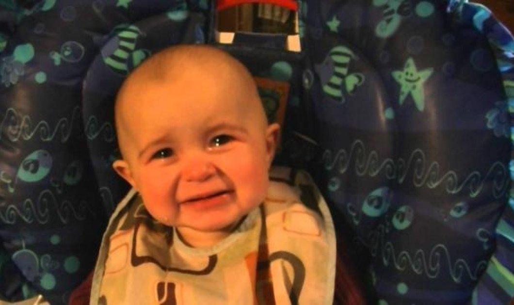 Τόσο γλυκό και τρυφερό βίντεο: Ένα μωράκι 10 μηνών συγκινείται και δακρύζει που ακούει τη μαμά του να τραγουδάει! - Κυρίως Φωτογραφία - Gallery - Video
