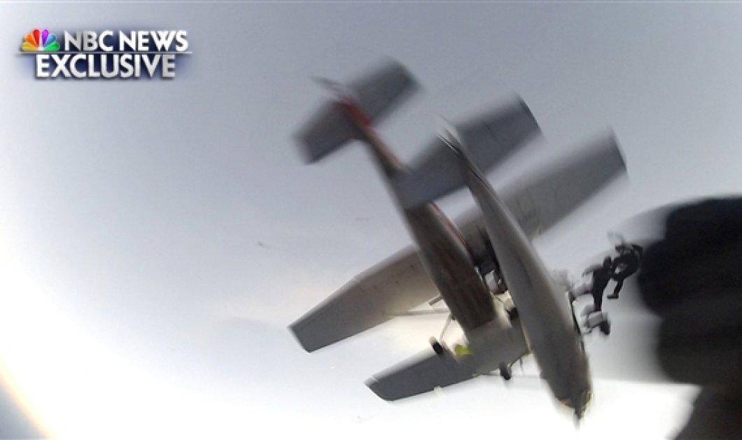 «Κόβει την ανάσα» το βίντεο με τη σύγκρουση δύο αεροπλάνων στον αέρα (βίντεο) - Κυρίως Φωτογραφία - Gallery - Video