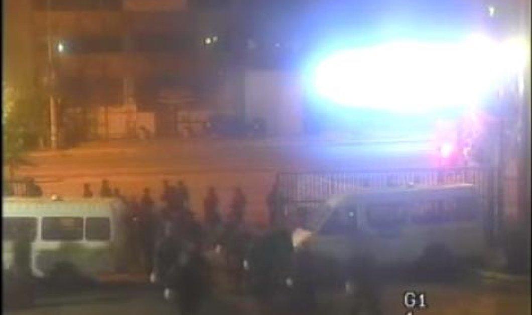 Δείτε ολόκληρο το βίντεο από την επέμβαση των ΜΑΤ στο ραδιομέγαρο της ΕΡΤ - Κυρίως Φωτογραφία - Gallery - Video