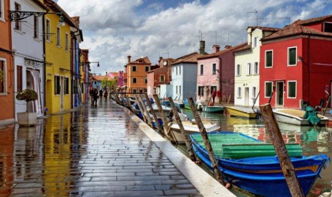 Ανακαλύψτε το νησάκι Μπουράνο-διάσημο για τις δαντέλες και τα πολύχρωμα σπίτια του, πολύ κοντά στη Βενετία (φωτογραφίες) - Κυρίως Φωτογραφία - Gallery - Video