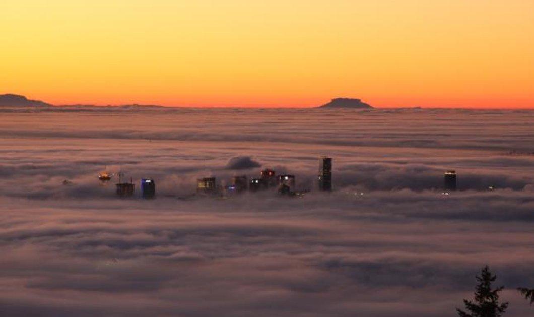 Μοναδικό βίντεο: Ομίχλη ''καταπίνει'' την πόλη του Βανκούβερ! (βίντεο) - Κυρίως Φωτογραφία - Gallery - Video