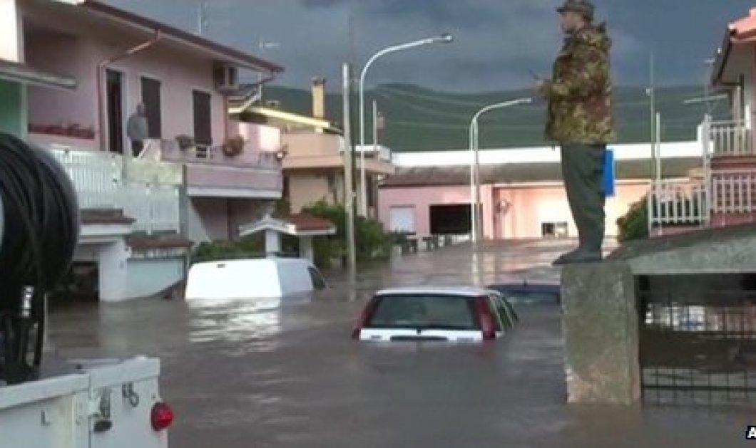 Η συγκλονιστική καταγραφή του κατακλυσμού στη Σαρδηνία σε αυτό το βίντεο που έγινε παγκόσμιο news feauture - Κυρίως Φωτογραφία - Gallery - Video
