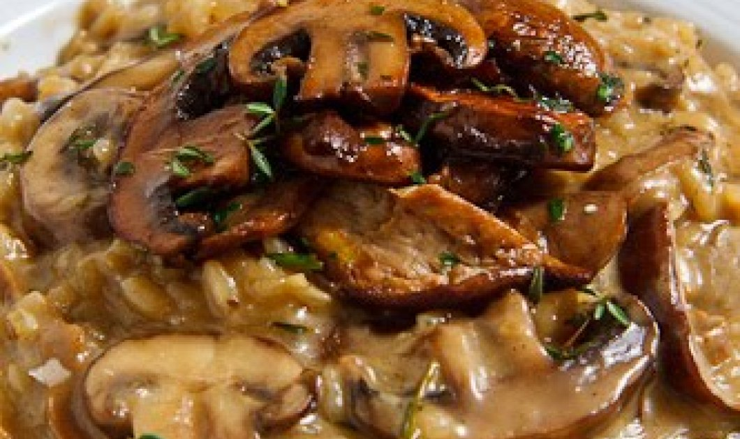 Ένα ριζότο με τριλογία μανιταριών για να κελαηδάτε όλοι στο σπίτι σας ετοίμασε ο σεφ Ηλίας Ιωσηφέλης!  - Κυρίως Φωτογραφία - Gallery - Video