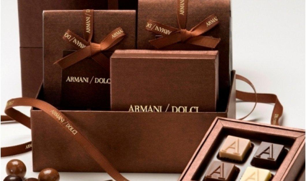 Όταν ο Giorgio Armani φτιάχνει και εκπληκτικά σοκολατάκια, πανετόνε & γλυκά για τα Χριστούγεννα, τότε το αποτέλεσμα δεν μπορεί παρά να είναι elegant! (φωτό) - Κυρίως Φωτογραφία - Gallery - Video