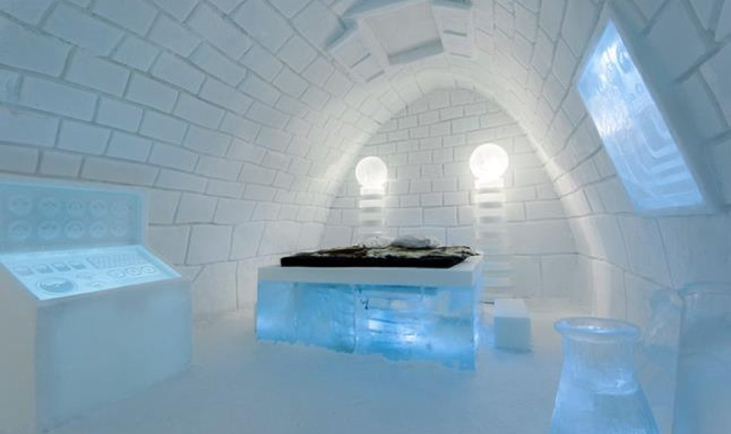 Συναρπαστικές, θεαματικές, παγωμένες οι νέες σουίτες του διάσημου ξενοδοχείου από πάγο - Οι 8 νέες σουίτες του Ice Hotel στην Σουηδία φτιάχτηκαν με 1.600 τόνους πάγο (φωτό) - Κυρίως Φωτογραφία - Gallery - Video