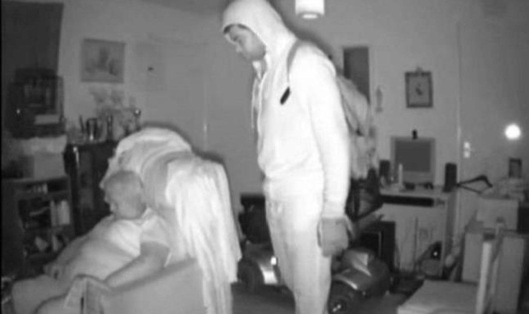 Μπρρρρ...να μη σου τύχει καλύτερα: Ηλικιωμένη κοιμάται και ο κλέφτης στέκεται ακριβώς από πάνω της! (βίντεο) - Κυρίως Φωτογραφία - Gallery - Video