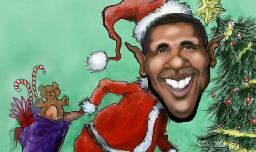 Μέχρι και Obama έχει μπει στο κλίμα των Χριστουγέννων - Δείτε τον να τραγουδάει το «Last Christmas»! (βίντεο) - Κυρίως Φωτογραφία - Gallery - Video