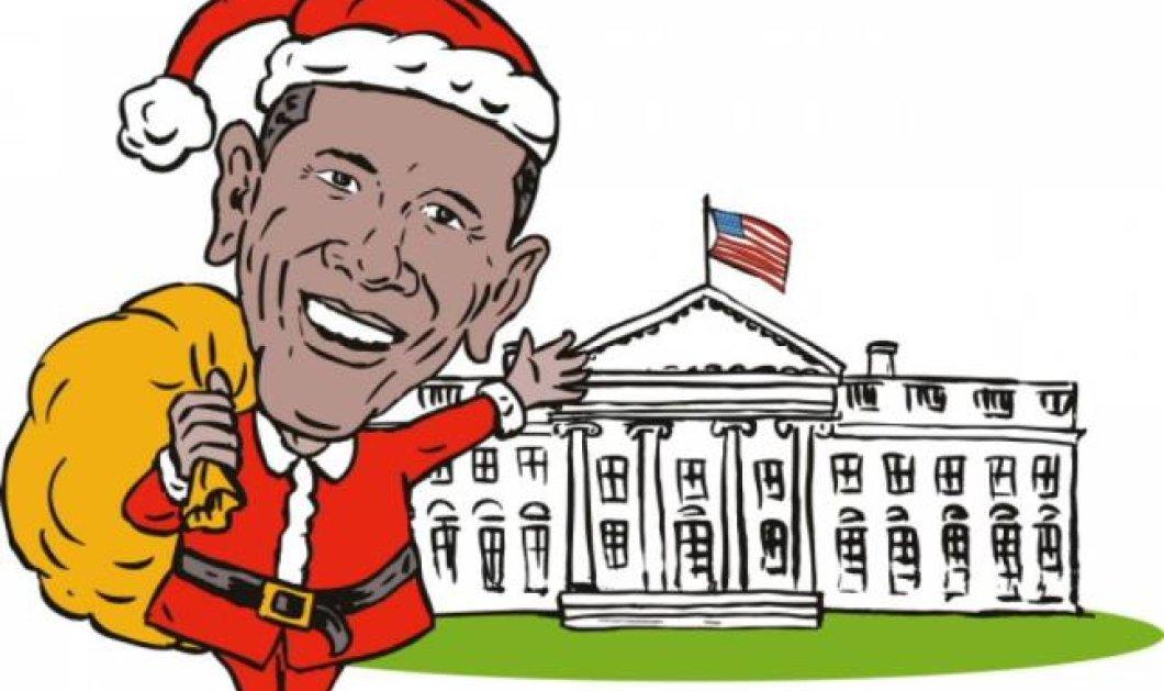 Ξεκαρδιστικό: Δείτε τον Μπαράκ Ομπάμα να «τραγουδά» το Χριστουγεννιάτικο hit «Last Christmas» (βίντεο) - Κυρίως Φωτογραφία - Gallery - Video