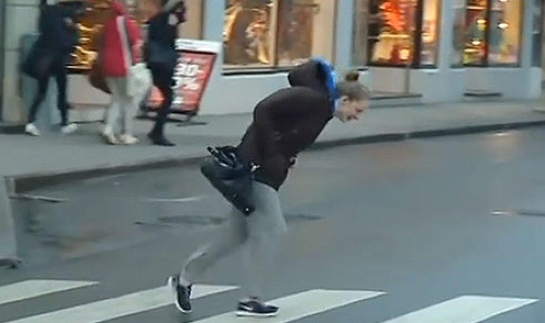 Απίστευτο βίντεο - Κόντρα στον άνεμο κυριολεκτικά για τους κατοίκους στο Aalesund της Νορβηγίας! (βίντεο)  - Κυρίως Φωτογραφία - Gallery - Video