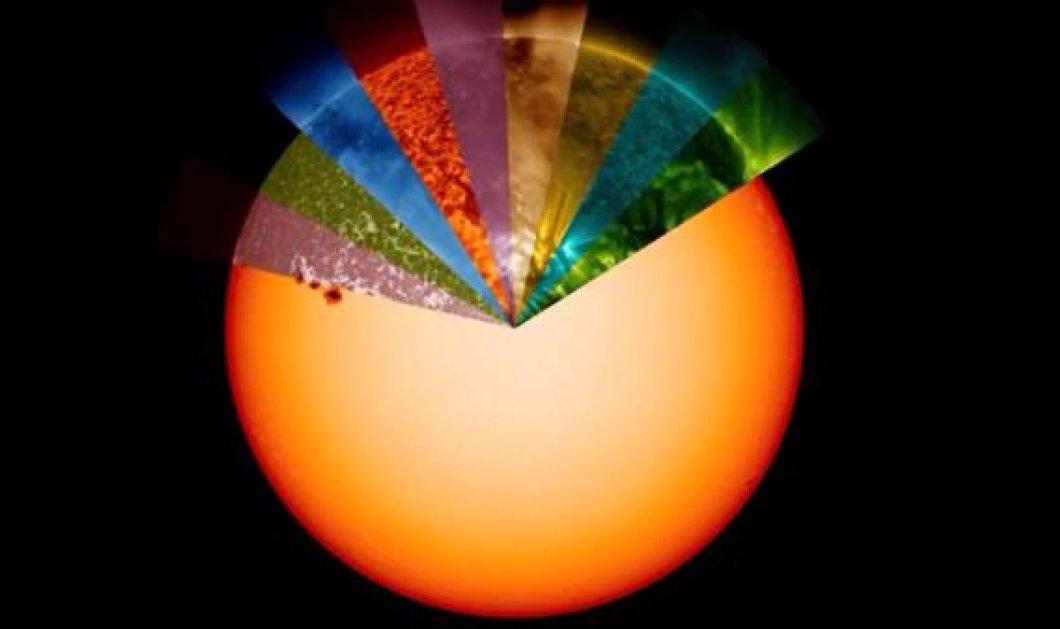 Δείτε το εντυπωσιακό «ουράνιο τόξο» του Ήλιου που δημιούργησε η NASA (βίντεο) - Κυρίως Φωτογραφία - Gallery - Video