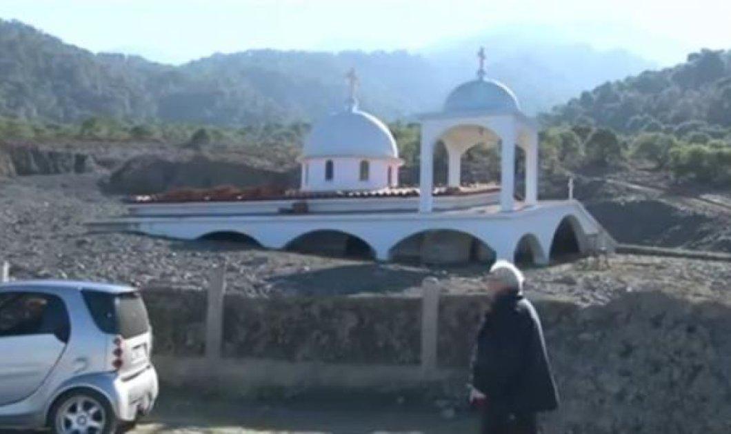 Απίστευτο - Εκκλησία στην Κόρινθο θάφτηκε κάτω από λάσπες! (βίντεο) - Κυρίως Φωτογραφία - Gallery - Video