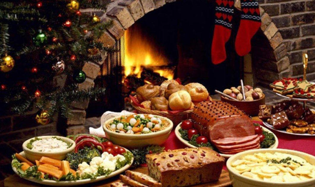 Tips για τις γιορτές των Χριστουγέννων για να διατηρήσετε το βάρος σας! - Κυρίως Φωτογραφία - Gallery - Video